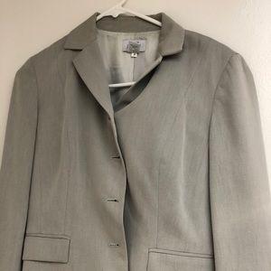 Light grey Ann Taylor LOFT suit